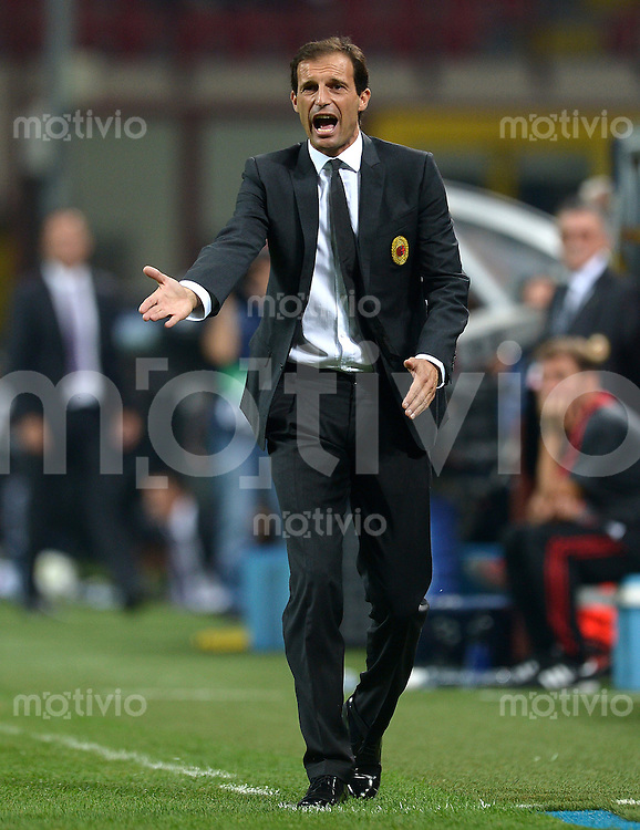 FUSSBALL   CHAMPIONS LEAGUE   SAISON 2012/2013   GRUPPENPHASE   AC Mailand - Anderlecht                            18.09.2012 Trainer Massimilliano Allegri (AC Mailand)