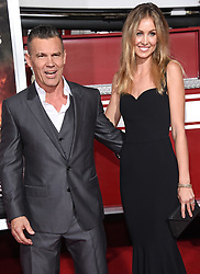 October 8, 2017 - Westwood, California, U.S. - Josh Brolin and Kathryn Boyd arrives for the premiere of the film 'Only The Brave' at the Village Theatre. (Credit Image: © Lisa O'Connor via ZUMA Wire)