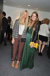 Left to right, MARTHA WARD and KATIE READMAN at the Shopbop.com at Home event held at Neo Bankside, London on 15th September 2012.