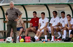 at Round 1 of PrvaLiga football match between NK Olimpija and NK Rudar Velenje, on July 18, 2010 at Sportni park Ljubljana, Slovenia. (Photo by Vid Ponikvar / Sportida)