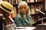 """l to r: Anthony Chisolm and Ruby Dee at the reading of ' Letters from Black America """" A Dramatic Reading with Editor Pamela Newkirk and actors Ruby Dee and Anthony Chisholm held at Barnes & Noble at 82nd Street on July 15, 2009 in New York City"""