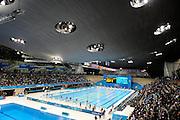DESCRIZIONE : Jeux Olympiques Londres Parc Olympique <br /> GIOCATORE : Piscine Olympique<br /> SQUADRA : Zaha Hadid<br /> EVENTO : Jeux Olympiques Architecture<br /> GARA : <br /> DATA : 30 08 2012<br /> CATEGORIA : Zaha HADID Architecte Jeux Olympiques Natation<br /> SPORT : <br /> AUTORE : JF Molliere <br /> Galleria : France JEUX OLYMPIQUES 2012 Reportage<br /> Fotonotizia : Parc Olympiques Londres <br /> Predefinita :