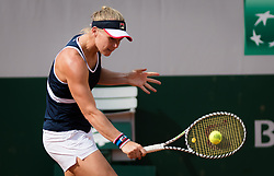 May 23, 2019 - Paris, FRANCE - Kiki Bertens of the Netherlands during practice at the 2019 Roland Garros Grand Slam tennis tournament (Credit Image: © AFP7 via ZUMA Wire)