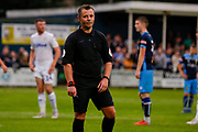 Referee Gareth Rhodes during the Pre-Season Friendly match between Tadcaster Albion and Leeds United at i2i Stadium, Tadcaster, United Kingdom on 17 July 2019.