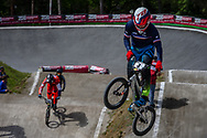 #4 (RENCUREL Jeremy) FRA during round 4 of the 2017 UCI BMX  Supercross World Cup in Zolder, Belgium.