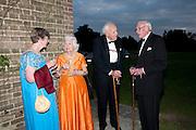 CLAIRE PEPPIATT; MRS. ROSEMARIE HULL; JOHN HULL; HUGH PEPPIATT, The Goodwood Ball. In aid of Gt. Ormond St. hospital. Goodwood House. 27 July 2011. <br /> <br />  , -DO NOT ARCHIVE-© Copyright Photograph by Dafydd Jones. 248 Clapham Rd. London SW9 0PZ. Tel 0207 820 0771. www.dafjones.com.
