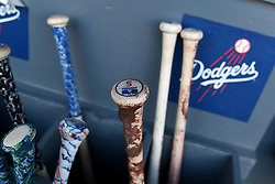 June 28, 2017 - Los Angeles, California, U.S. - Los Angeles Dodgers' bats prior to a Major League baseball game between the Los Angeles Angels and the Los Angeles Dodgers at Dodger Stadium on Tuesday, June 27, 2017 in Los Angeles. (Photo by Keith Birmingham, Pasadena Star-News/SCNG) (Credit Image: © San Gabriel Valley Tribune via ZUMA Wire)