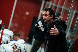 POLONCIC Gregor head coach of HK SZ Olimpija during Alps League Ice Hockey match between HDD SIJ Jesenice and HK SZ Olimpija on January 2, 2021 in Ice Arena Podmezakla, Jesenice, Slovenia. Photo by Peter Podobnik / Sportida