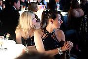 ALEXANDRA ELLING; VIBEKE LARSEN;, Grey Goose Winter Ball to Benefit the Elton John AIDS Foundation. Battersea park. London. 29 October 2011. <br /> <br />  , -DO NOT ARCHIVE-© Copyright Photograph by Dafydd Jones. 248 Clapham Rd. London SW9 0PZ. Tel 0207 820 0771. www.dafjones.com.