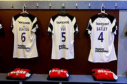 A general view of the Bristol Bears dressing room at Harlequins - Mandatory by-line: Robbie Stephenson/JMP - 23/02/2019 - RUGBY - Twickenham Stoop - London, England - Harlequins v Bristol Bears - Gallagher Premiership Rugby