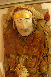 Preserved corpse in the Xinjiang Regional museum Urumqi China on the Silk Road 2003