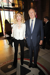 BASIA BRIGGS and EDGAR ASTAIRE at the opening of the Victoria & Albert Museum's latest exhibition 'Grace Kelly: Style Icon' opened by His Serene Highness Prince Albert of Monaco at the V&A on 15th April 2010.