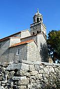 Church of Saint Martin (Sveti Martin), Zrnovo, island of Korcula, Croatia