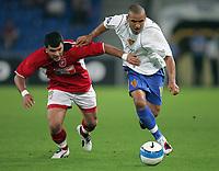 Rabotnickis Carlos Abrilio Adelcio gegen Basels Delron Buckley © Markus Stuecklin/EQ Images