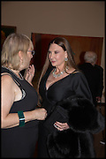 JEAN WAINWRIGHT; MARILYN COLE-LOWNDES, Allen Jones private view. Royal Academy,  London. 11 November  2014.