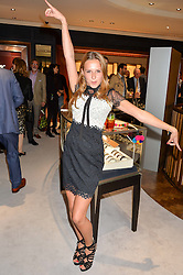 DAISY JENKS at a party to celebrate the opening of Mappin & Webb's Flagship Regent Street Boutique at 132 Regent Street, London on 28th June 2016.