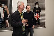 MARTIN PARR; SIMON BAKER Opening of the Martin Parr Foundation party,  Martin Parr Foundation, 316 Paintworks, Bristol, BS4 3 EH  20 October 2017