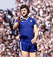 Fotball<br /> England<br /> Foto: Colorsport/Digitalsport<br /> NORWAY ONLY<br /> <br /> Chelsea historikk<br /> Mickey Droy (Chelsea) Arsenal v Chelsea. 1976/77.