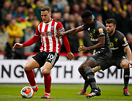 Billy Sharp of Sheffield Utd during the Premier League match at Bramall Lane, Sheffield. Picture date: 7th March 2020. Picture credit should read: Simon Bellis/Sportimage
