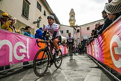March 15, 2019 - Pomarance, Pisa, Italia - Foto Gian Mattia D'Alberto / LaPresse.15/03/2019 Pomarance (Italia) .Sport Ciclismo.Tirreno-Adriatico 2019 - edizione 54 - da Pomarance a Foligno  (226 km) .Nella foto:i corridori al podio firma..Photo Gian Mattia D'Alberto / LaPresse .March 15, 2018 Pomarance (Italy).Sport Cycling.Tirreno-Adriatico 2019 - edition 54 - Pomarance to Foligno (140 miglia) .In the pic:the athlete at the signing podium (Credit Image: © Gian Mattia D'Alberto/Lapresse via ZUMA Press)