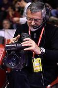 DESCRIZIONE : Reggio Emilia Campionato Lega A 2015-16 Grissin Bon Reggio Emilia Pasta Reggia Juve Caserta<br /> GIOCATORE :<br /> CATEGORIA : Cameraman<br /> SQUADRA : <br /> EVENTO : Campionato Lega A 2015-16<br /> GARA : Grissin Bon Reggio Emilia Pasta Reggia Juve Caserta<br /> DATA : 20/12/2015<br /> SPORT : Pallacanestro <br /> AUTORE : Agenzia Ciamillo-Castoria/A.Giberti<br /> Galleria : Campionato Lega A 2015-16  <br /> Fotonotizia : Reggio Emilia Campionato Lega A 2015-16 Grissin Bon Reggio Emilia Pasta Reggia Juve Caserta<br /> Predefinita :