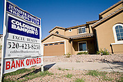 June 02, 2008 - Queen Creek, AZ: A bank owned home for sale on 191st Dr in Queen Creek, AZ. Queen Creek, on the fringe of the Phoenix metropolitan area has been hit hard by the subprime mortgage meltdown and collapse of the housing market. The town is being forced to slash its budget and scale back on development plans. Photo by Jack Kurtz / ZUMA Press
