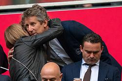 08-05-2019 NED: Semi Final Champions League AFC Ajax - Tottenham Hotspur, Amsterdam<br /> After a dramatic ending, Ajax has not been able to reach the final of the Champions League. In the final second Tottenham Hotspur scored 3-2 / Edwin van der Sar