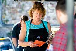 Participants during the Weber Barbecue Course at Almondsbury Garden Centre - Mandatory by-line: Ryan Hiscott/JMP - 02/06/2018 - COMMERCIAL - Almondsbury Centre - Bristol, England -  v  - Weber Barbecue at Almondsbury Garden Centre