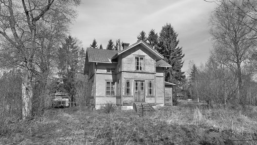 Bilder från Toftbyn i Svärdsjö Dalarna i maj 2012