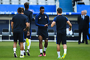 PARIS, FRANCE - JUNE 09: (CHINA OUT) <br /> <br /> Anthony Martial of France attends a training session on the eve of the beginning of the Euro 2016 European football championships football match against Romania at Stade de France stadium on June 9, 2016 in Saint-Denis near Paris, France. <br /> ©Exclusivepix Media