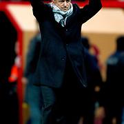 Galatasaray's coach Fatih Terim during their Turkish Super League soccer match Galatasaray between Kayserispor at the TT Arena at Seyrantepe in Istanbul Turkey on Saturday, 11 February 2012. Photo by TURKPIX