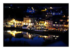 Brewin Dolphin Scottish Series 2010, Tarbert Loch Fyne - Yachting..Tarbert Harbour Social - Tilt Shift Image......