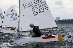 , Travemünde - Travemünder Woche 21. - 30.07.2017, Opti - GER 13425 - Henri NEUMANN - Mühlenberger Segel-Club e. V