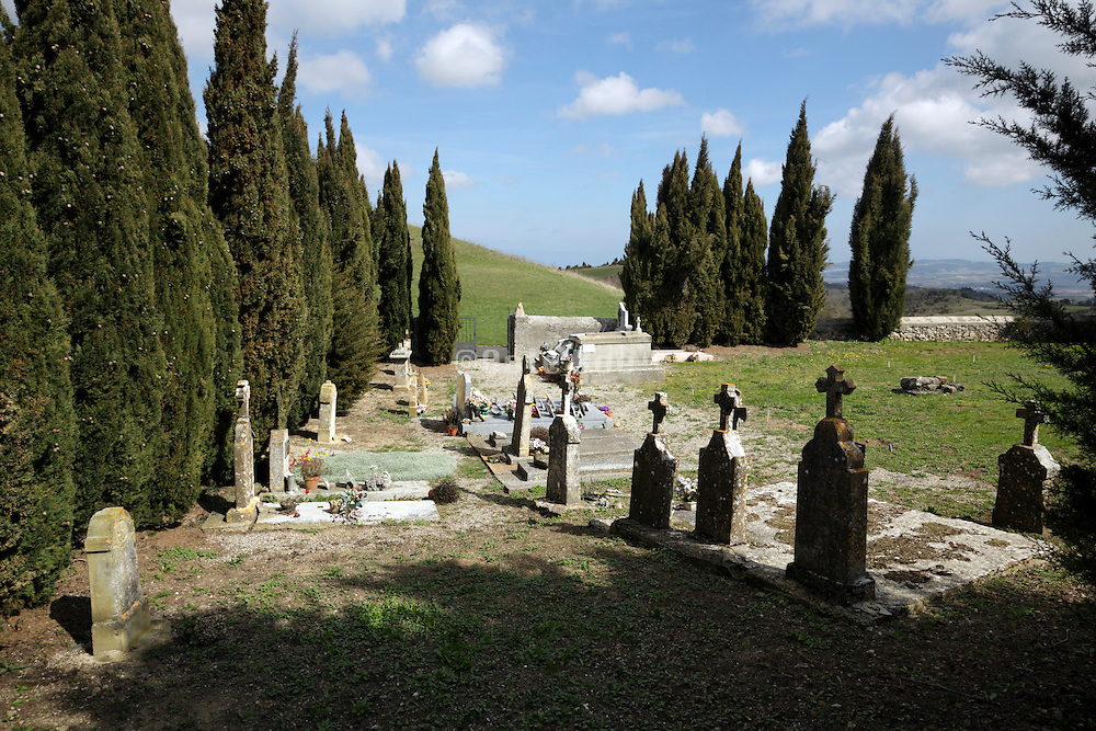 old rural graveyard France Razes