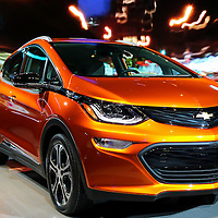 """""""Chevrolet Bolt EV""""<br /> <br /> Just seen at The 2016 NAIAS in Detroit Michigan, the beautiful Chevrolet Bolt EV!"""