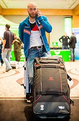 28.01.2014,  Marriott, Wien, AUT, Sochi 2014, Einkleidung OeOC, im Bild Daniel Mesotitsch (Biathlon, AUT) // Daniel Mesotitsch (Biathlon, AUT) during the outfitting of the Austrian National Olympic Committee for Sochi 2014 at the  Marriott in Vienna, Austria on 2014/01/28. EXPA Pictures © 2014, PhotoCredit: EXPA/ JFK
