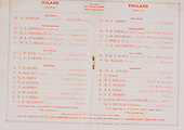 Rugby 10/02/1951 Five Nations Ireland Vs England