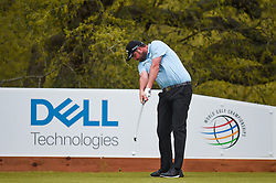 March 23, 2018 - Austin, TX, U.S. - AUSTIN, TX - MARCH 23: Marc Leishman hits a tee shot during the third round of the WGC-Dell Technologies Match Play on March 23, 2018 at Austin Country Club in Austin, TX. (Photo by Daniel Dunn/Icon Sportswire) (Credit Image: © Daniel Dunn/Icon SMI via ZUMA Press)