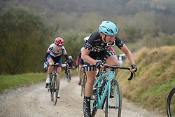 Alice Barnes (Drops) at Strade Bianche - Elite Women. A 127 km road race on March 4th 2017, starting and finishing in Siena, Italy. (Photo by Sean Robinson/Velofocus)