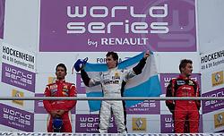 05.09.2010, Hockenheimring, Hockenheim, GER, World Series by Renault, im Bild Esteban Guerrieri feiert seinen Sieg, EXPA Pictures © 2010, PhotoCredit: EXPA/ MN