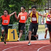 B Division Boys 4x100m Relay