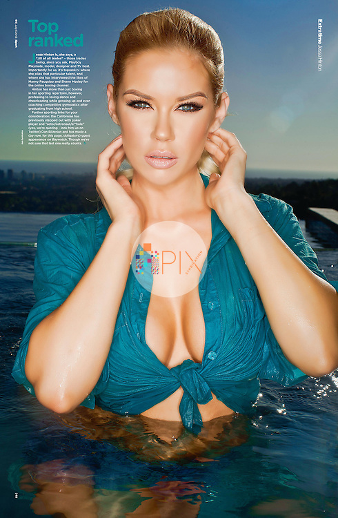 Babetastic! Jessa Hinton makes a stunning 'centerfold' for the July issue of Sport Magazine in the UK.  <br /> <br /> Image from our shoot 'Jessa Hinton', available for worldwide use with approval:  http://www.apixsyndication.com/gallery/Jessa-Hinton/G0000BrK5yhxc3jo/C0000umetOjkvZ9Q