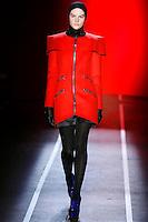 Sara Blomqvist wearing the Jonathan Saunders Fall 2009 Collection