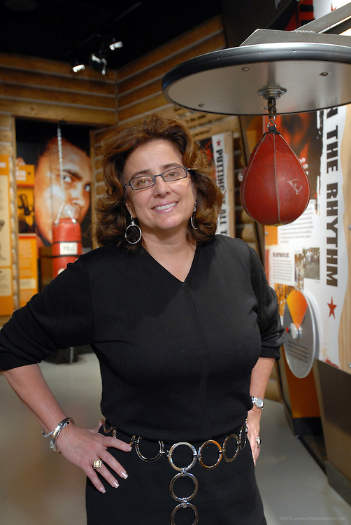 Rohena Miller of Niche Marketing, photographed Thursday, Nov. 30, 2006 at the Muhammad Ali Center in Louisville, Ky. (Photo by Brian Bohannon).