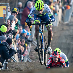 2020-01-01 Cycling: dvv verzekeringen trofee: Baal: Quinten Hermans on the jump
