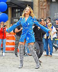 Rita Ora Filming A Music Video - 5 Oct 2017