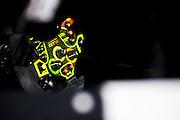 January 26-29, 2017: Rolex Daytona 24. Lamborghini Huracan GT3 steering wheel