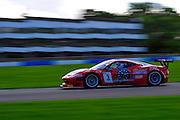 2012 FIA GT1 World Championship.Donington Park, Leicestershire, UK.27th - 30th September 2012.Filip Salaquarda / Marco Cioci, Ferrari 458 Italia GT3..World Copyright: Jamey Price/LAT Photographic.ref: Digital Image Donington_FIAGT1-18984