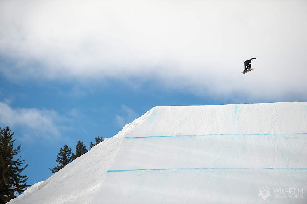 Silje Norendal during Women's Snowboard Slopestyle Finals during 2015 X Games Aspen at Buttermilk Mountain in Aspen, CO. ©Joshua Duplechian/ESPN
