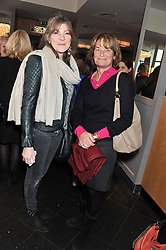 Left to right, JEANNETTA ROWAN HAMILTON and EMMA KESWICK at a ladies lunch in support of Maggie's Barts hosted by Judy Naake, Clara Weatherall and Caroline Collins at Le Cafe Anglais, 8 Porchester Gardens, London W2 on 19th March 2013.